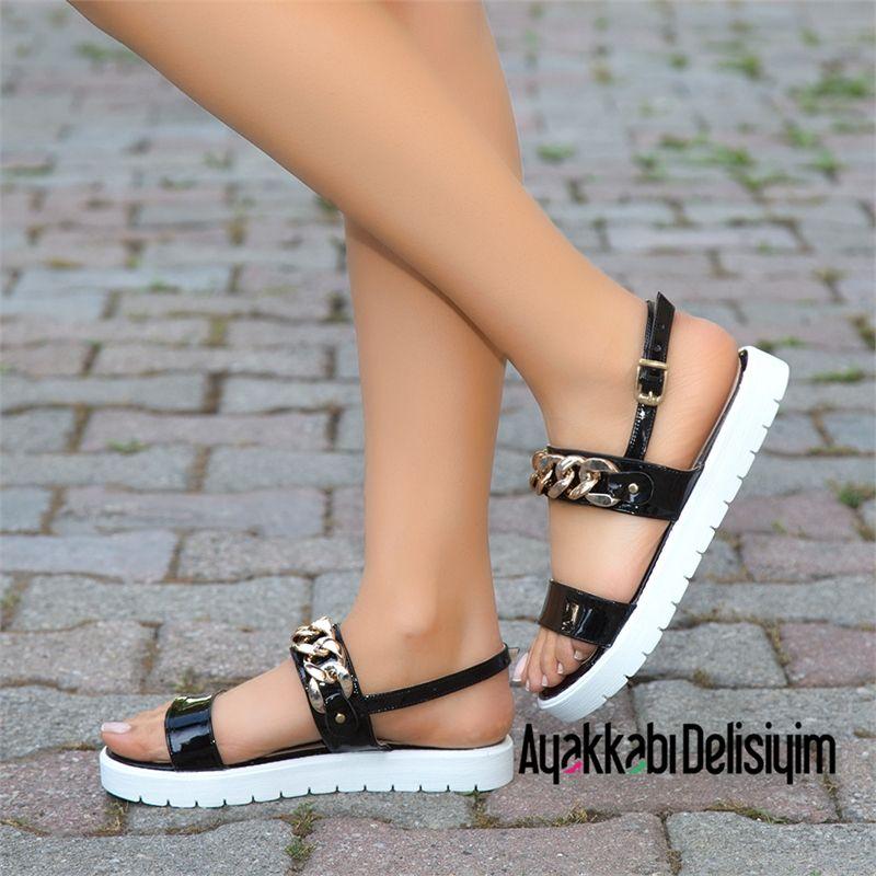 Sik Sandalet Sandals Sandalet Moda Ayakkabilar Topuklu Sandalet