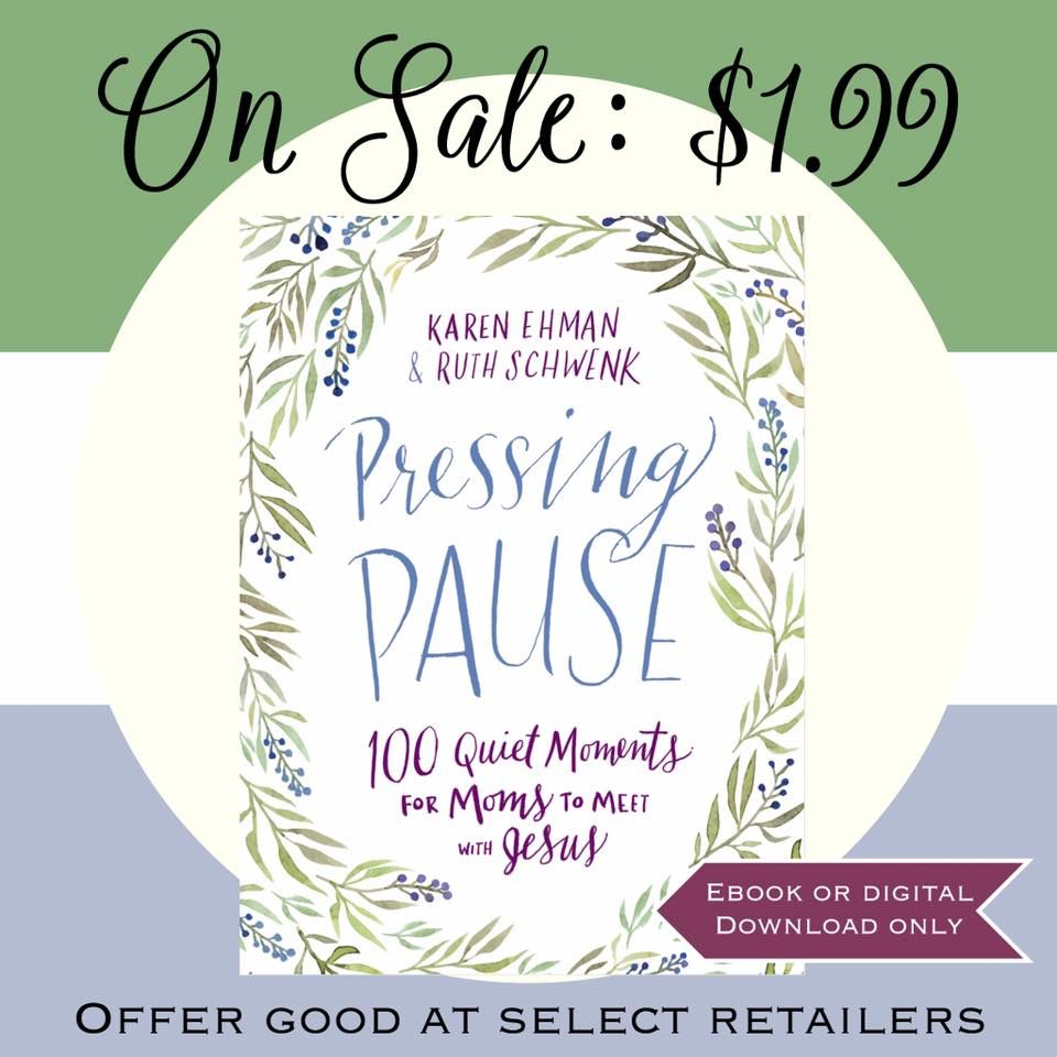 Pressing Pause eBook only $1.99 at your favorite ebook retailer + get FREEBIES with your purchase.