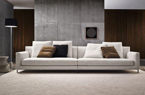 The Allen Sofa Again I Love This Sofa Minotti Furniture Minotti Sofa Living Room Collections