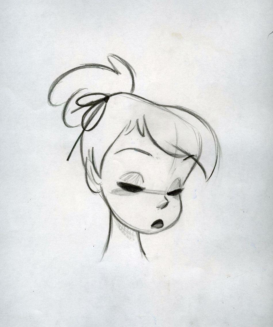 Disney Drawings: Steve Thompson Drawing Of Tinkerbell