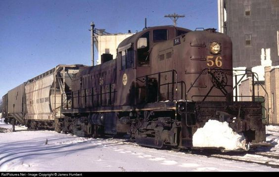 RailPictures.Net Photo: CGW 56 Chicago Great Western Alco RS-2 at Red Wing, Minnesota by James Humbert: