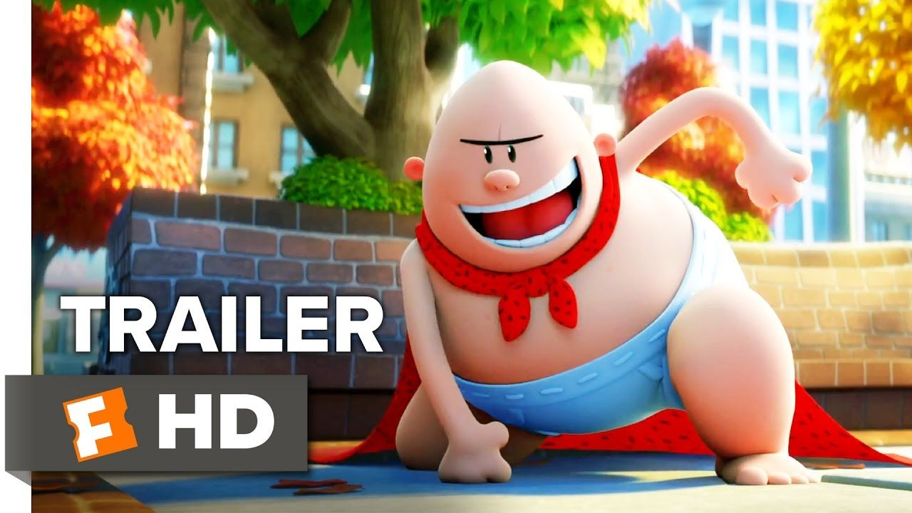 Captain underpants the first epic movie trailer 1 2017