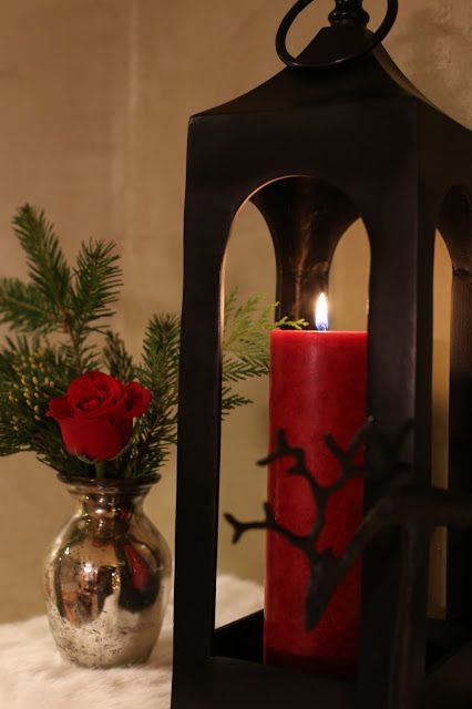 Decorated Mantel hello december! Christmas Decor Tips and More