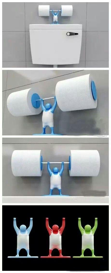 Wohnen, Papierhalter, Toilettenpapier, Coole Ideen, Mariana, Kreative  Ideen, Badezimmer, Türen Ohne Rahmen, Seifenhalter