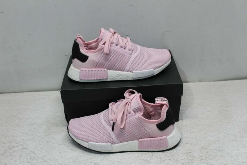 c37eb0406a767 Adidas Women s 6.5 NMD R1 Sneaker Clear Pink Cloud White Core Black B37648