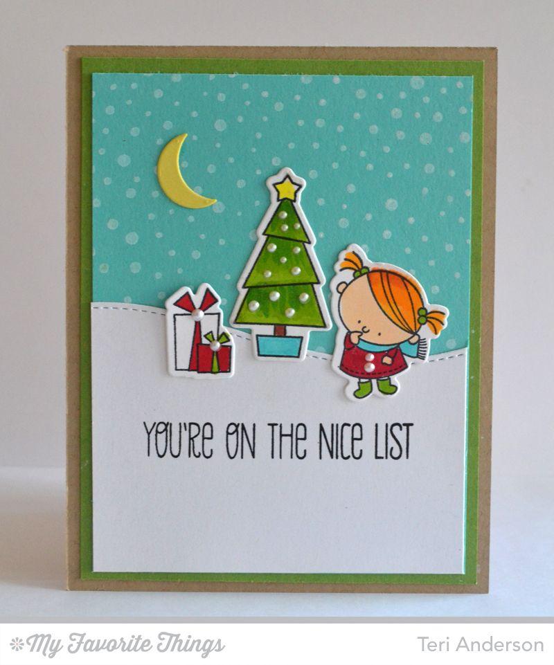 Mft Countdown 6 Xmas Cards Christmas Cards Christmas Stamps