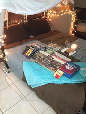 romantic at home date idea