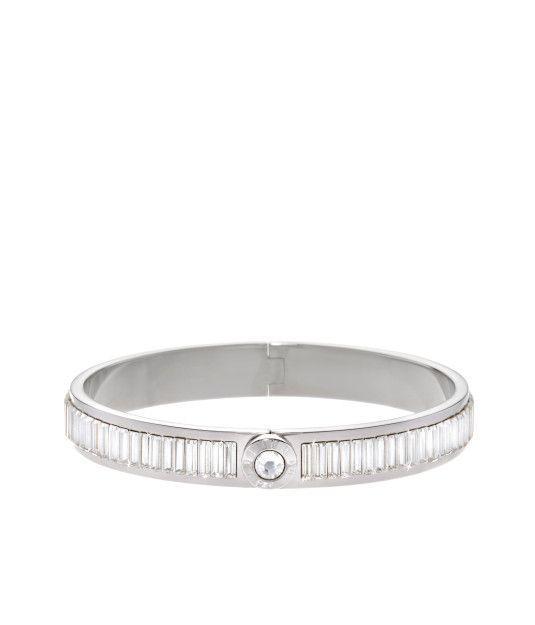 The Harry Bangle Jeweled Bangle Designer Bangle Bracelet Silver