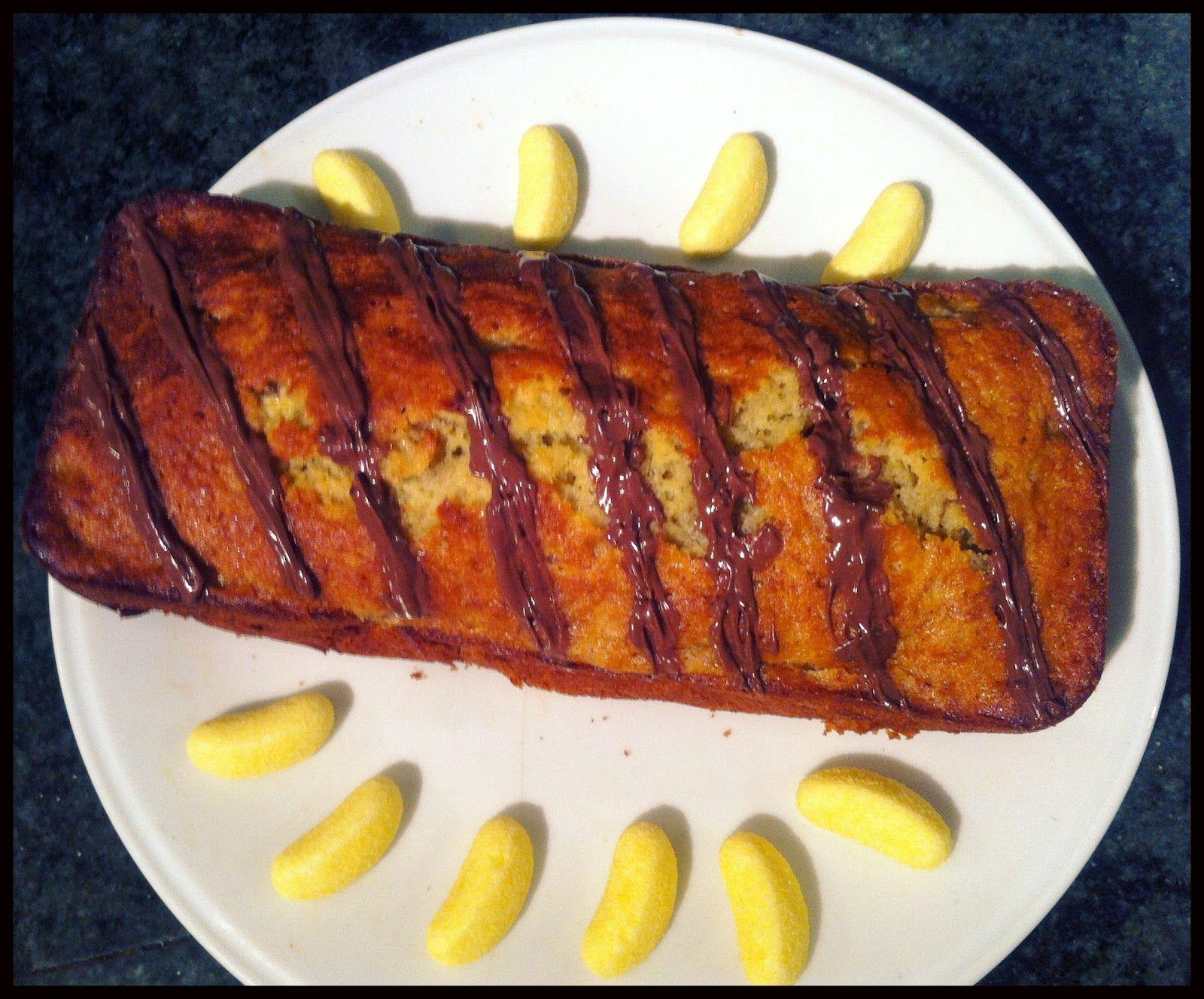Banana-Nutella cake recipe sur Cultivez moi !  http://cultivez-moi.blogspot.fr/2012/08/calo-quoi-alors-la-je-vois-vraiment-pas.html