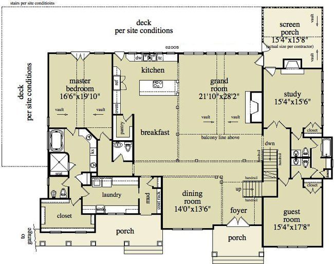 4 Bedroom 5 Bath Country House Plan Alp 095f Country House Plan Floor Plans House Plans