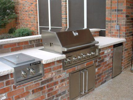 Outdoor Kitchen Brick Outdoor Kitchen Brick Picture Island With – Brick Outdoor Kitchen