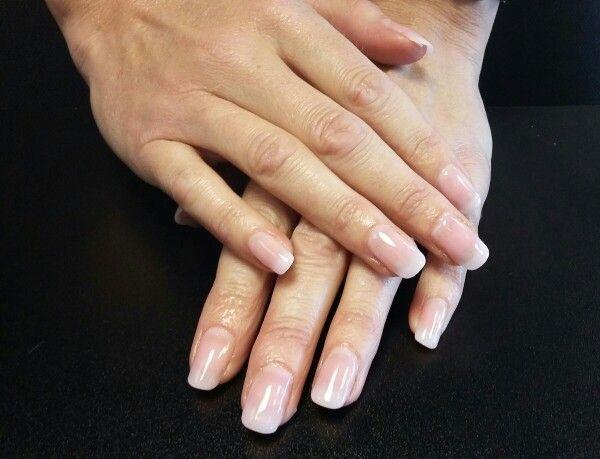 Biosculpture Gel extensions natural   nails   Pinterest   Gel ...