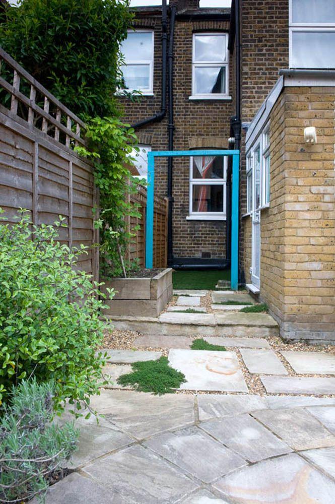 Small Courtyard Garden East London | Small courtyard ...