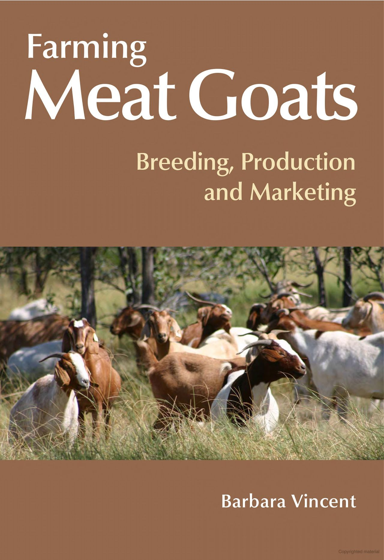 Farming Meat Goats ebook looks of really good general