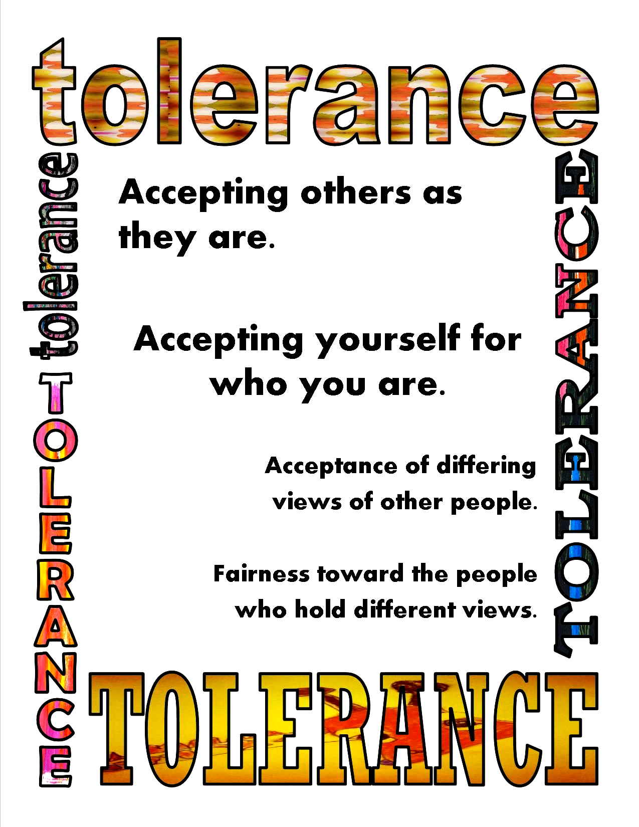 Dont Laugh At Me: Tolerance Poster in 2020 (With images ...