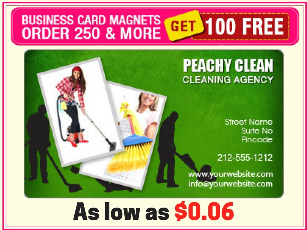 2x3 5 Custom Cleaners Business Card Magnets 20 Mil Round Corners Cleaners Business Card Magnets Home Garden Magnets Shop By Theme Personalized Magnet Custom Magnets