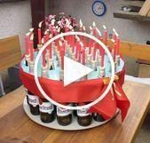 Beer pie gift baskets ideas, birthday or christmas. Great for packaging. #boyfri…