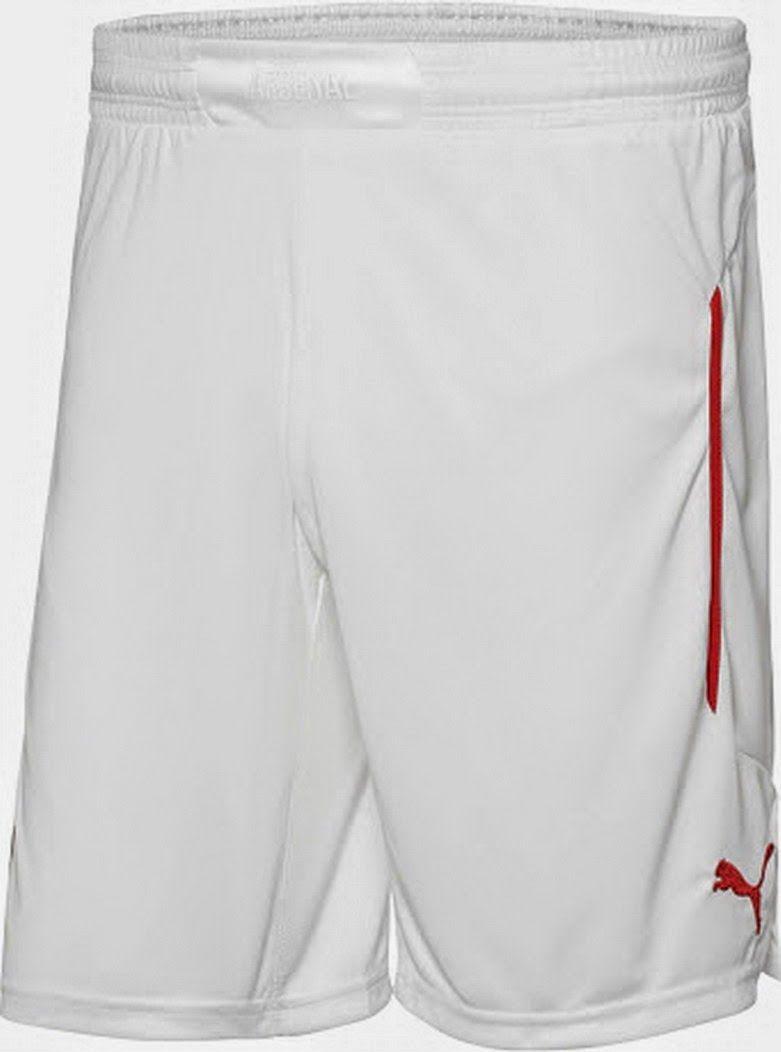Nueva camisetas del Arsenal Puma 2015