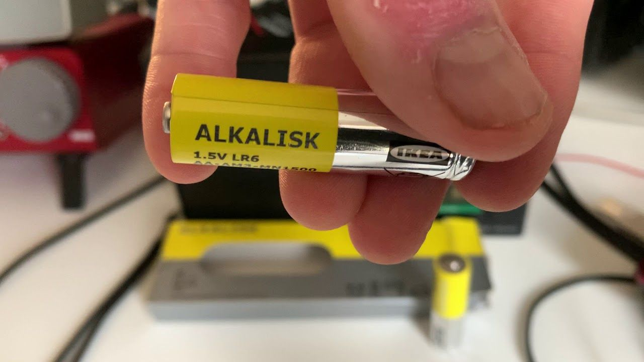 Be Aware Of A Size Problem With Ikea Alkalisk Aa Batteries Aa Batteries Batteries Awareness