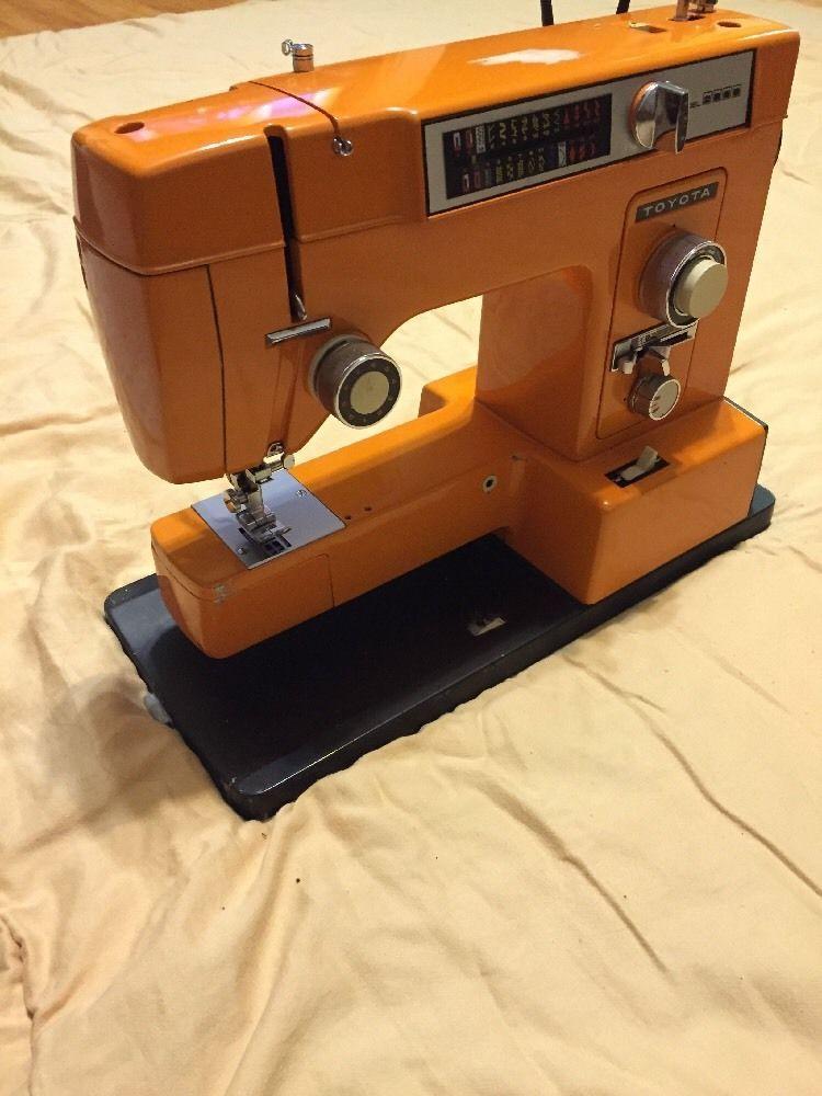 Toyota Sewing Machine Model 40 40 Vintage Machines Pinterest Custom Sewing Machine Repair Seattle