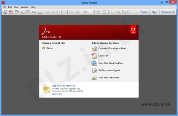 ดาวน์โหลด #Adobe #Reader XI 11.0.10 โปรแกรมอ่าน PDF ค่ายดัง http://www.downloadgg.com/adobe-reader/
