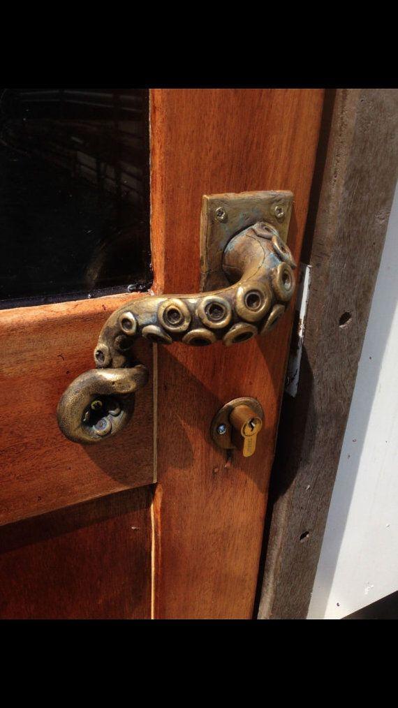 2x octopus door handle steampunk vintage | Door handles, Doors and ...