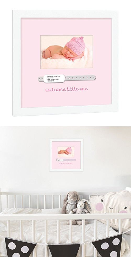 Tiny Ideas Baby S Hospital Bracelet Keepsake Photo Frame Perfect Unique Gift For New Or Expecting