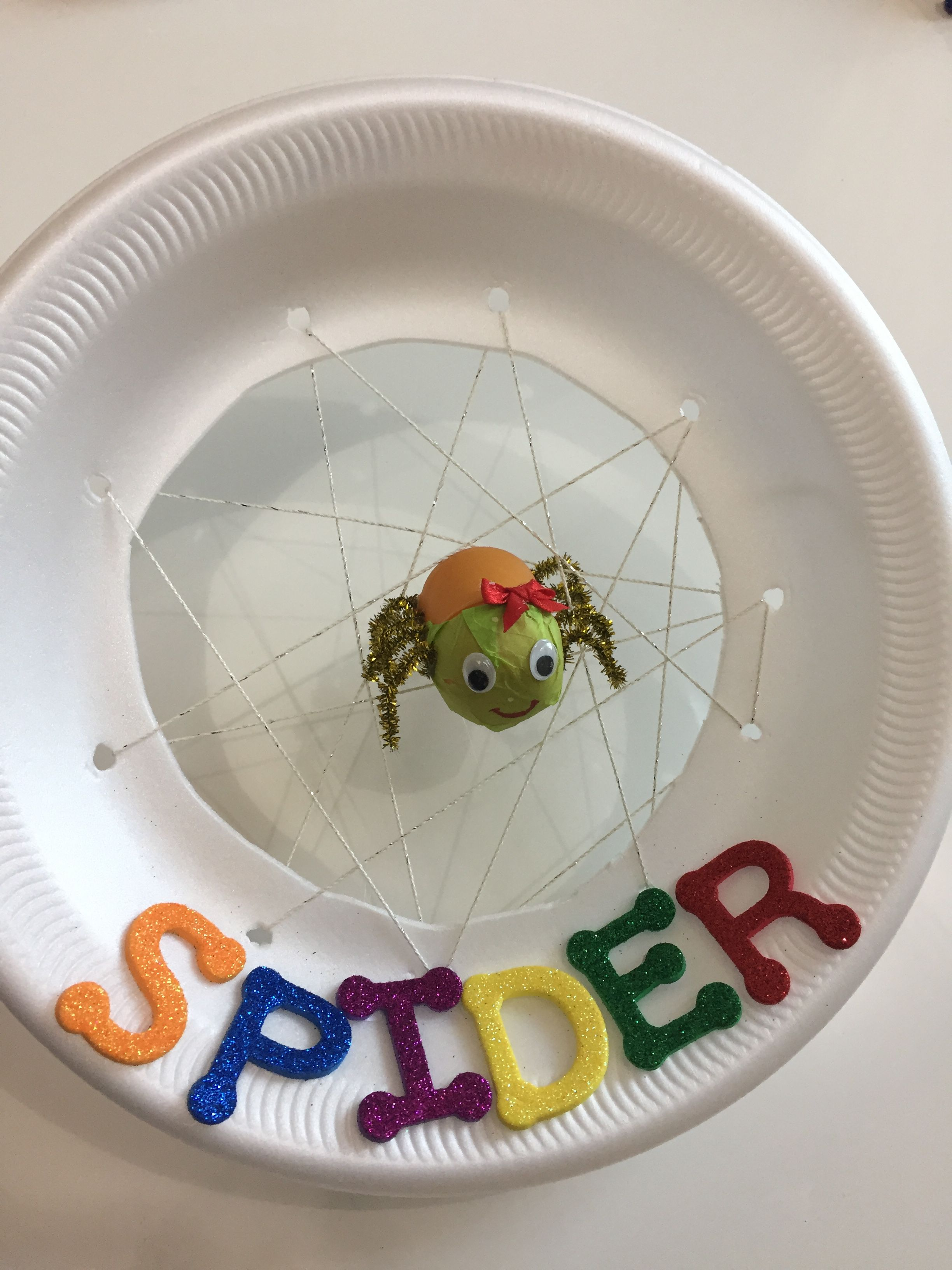 The Very Busy Spider By Eric Carle Kg Activities Projects