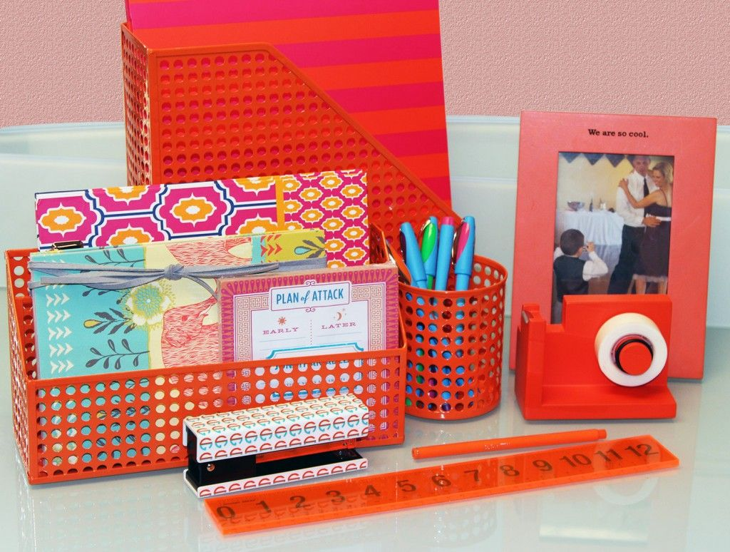 colorful office accessories. Colorful Desk Organizers - Urban Girl Blog Office Accessories I