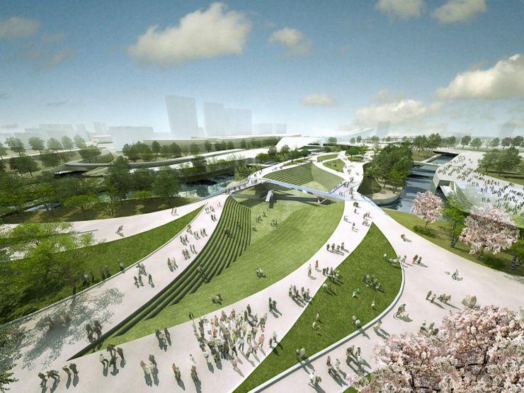 Modern Parks With Steps Landscape And Urbanism Landscape Architects London
