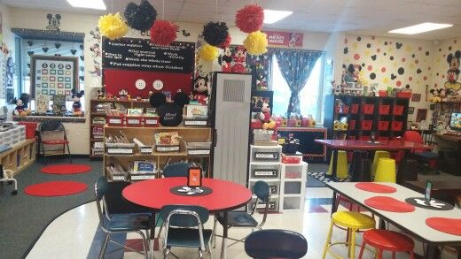 Mickey themed classroom