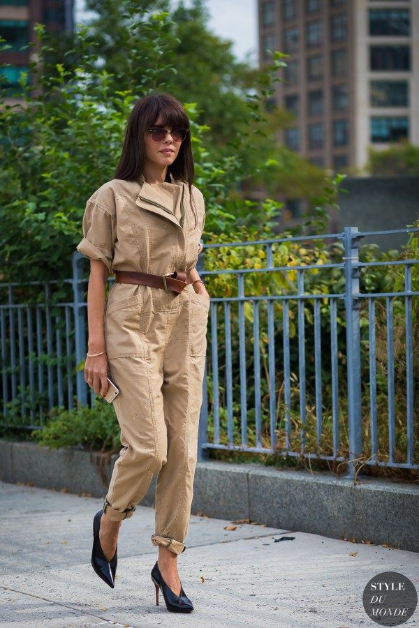 New York Fashion Week SS 2016 Street Style: Evangelie Smyrniotaki