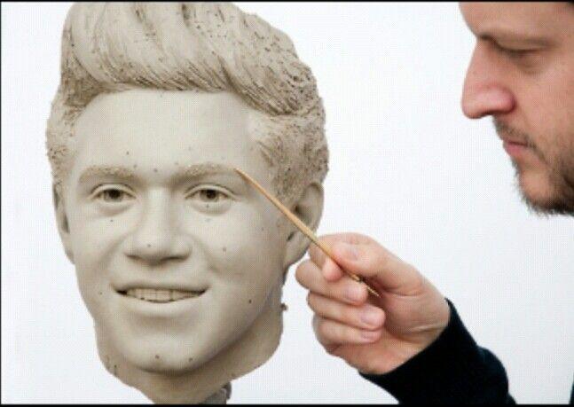 Nialls wax figure