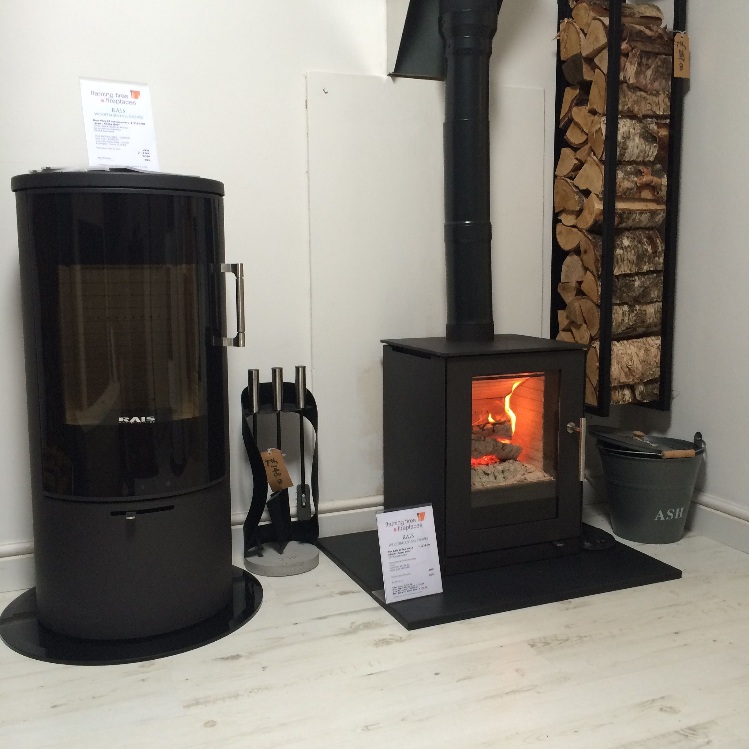 For Stylish Danish Contemporary Woodburners Visit Our Showroom To View The Rais Collection On Display Multi Fuel Stove Contemporary Design Electric Fires