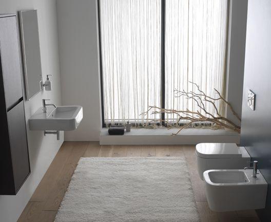 Ceramica Globo Stone Basic Shower Curtain Home Decor Shower Curtain