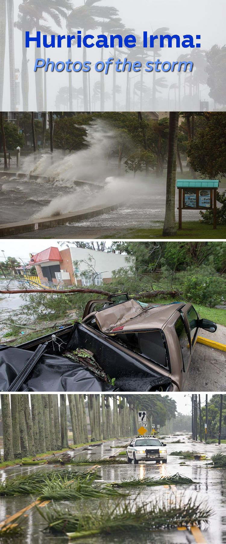 Hurricane Irma And Aftermath Palm Beach County Photo Storm