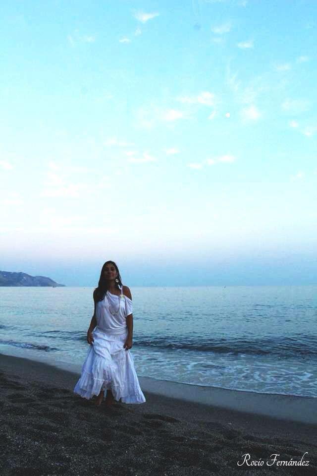 Yo por Rocio Fernandez en playa burriana