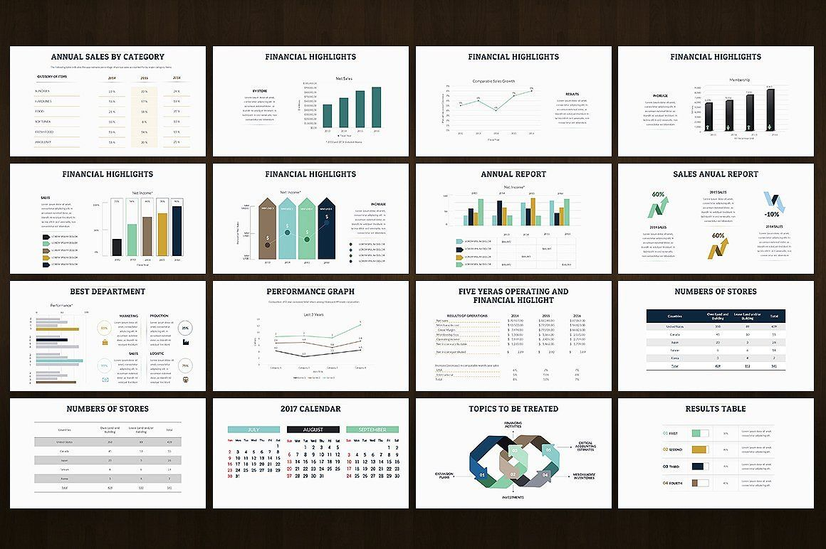 Annual Report Keynote Presentation Annual Report Powerpoint