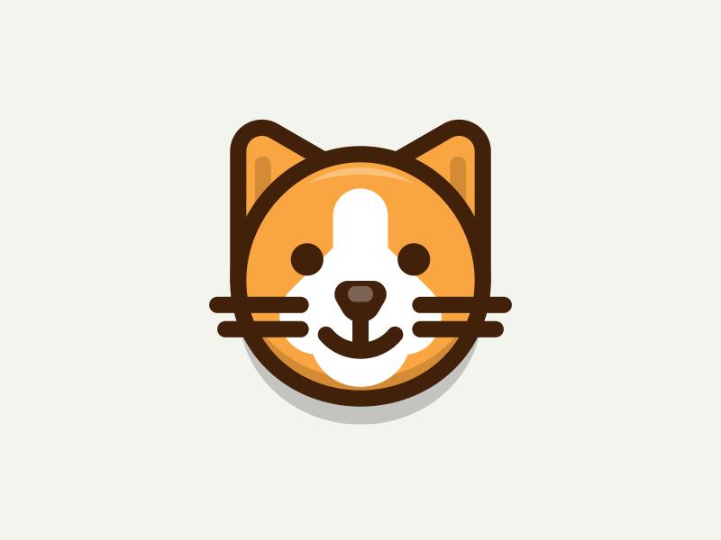 Cat https://dribbble.com/shots/3042364-Cat #digitalart #art #graphics #graphicdesign #design #illustration #vector #icon #dribbble