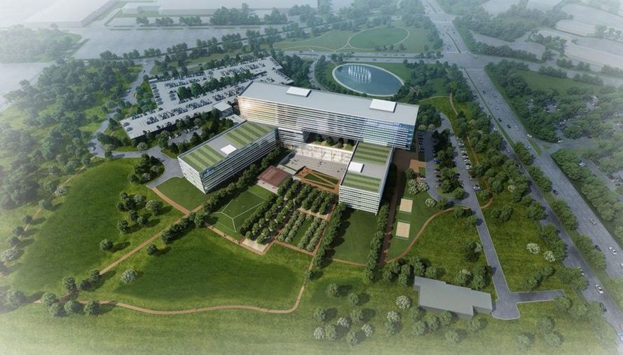 New Green Roofed Office Building In Chicago Is Stacked For Optimal Solar Absorption Group Insurance New Green