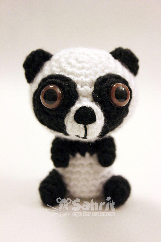 PATTERN Instant O-SO-CUTE Panda Bear Amigurumi Chrochet Doll by ...
