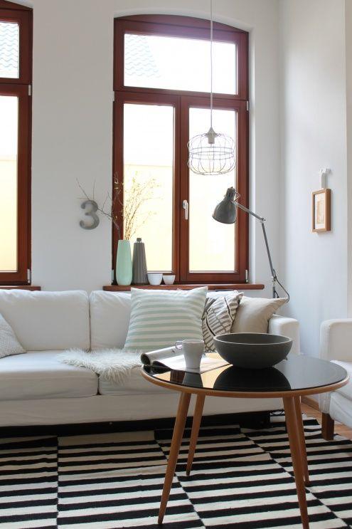 endlich eine Leselampe, Tags Sofa + Altbau + Schwarz + Ikea + - Teppich Wohnzimmer Braun