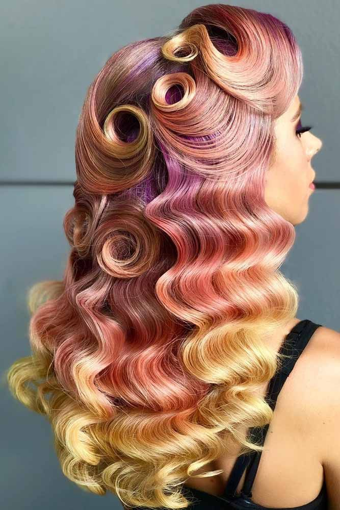Inspiring Styling Ideas And Tutorials To Wear Finger Waves Perfectly -   16 long style waves ideas