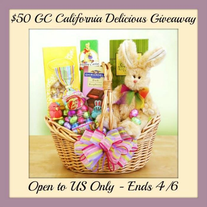 Win a 50 california delicious gift code with free shipping win a 50 california delicious gift code with free shipping negle Image collections