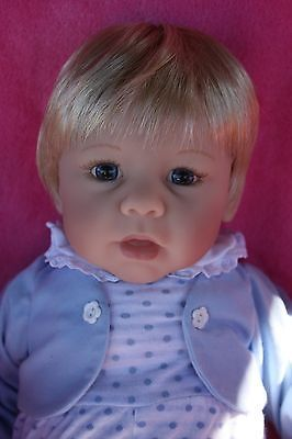 lee middleton artist Eva Helland doll blonde baby boy