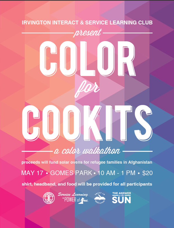 color walkathon flyer by mansi soni via behance