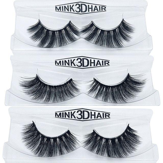 94015eb532f Eyelashes 3D mink eyelashes long lasting mink lashes natural dramatic  volume eyelashes extension false eyelashes Review