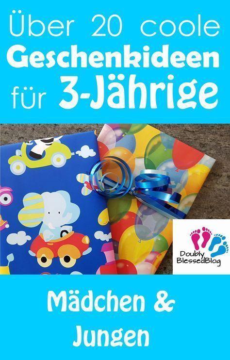 Geschenkideen für 3jährige Mädchen und Jungen