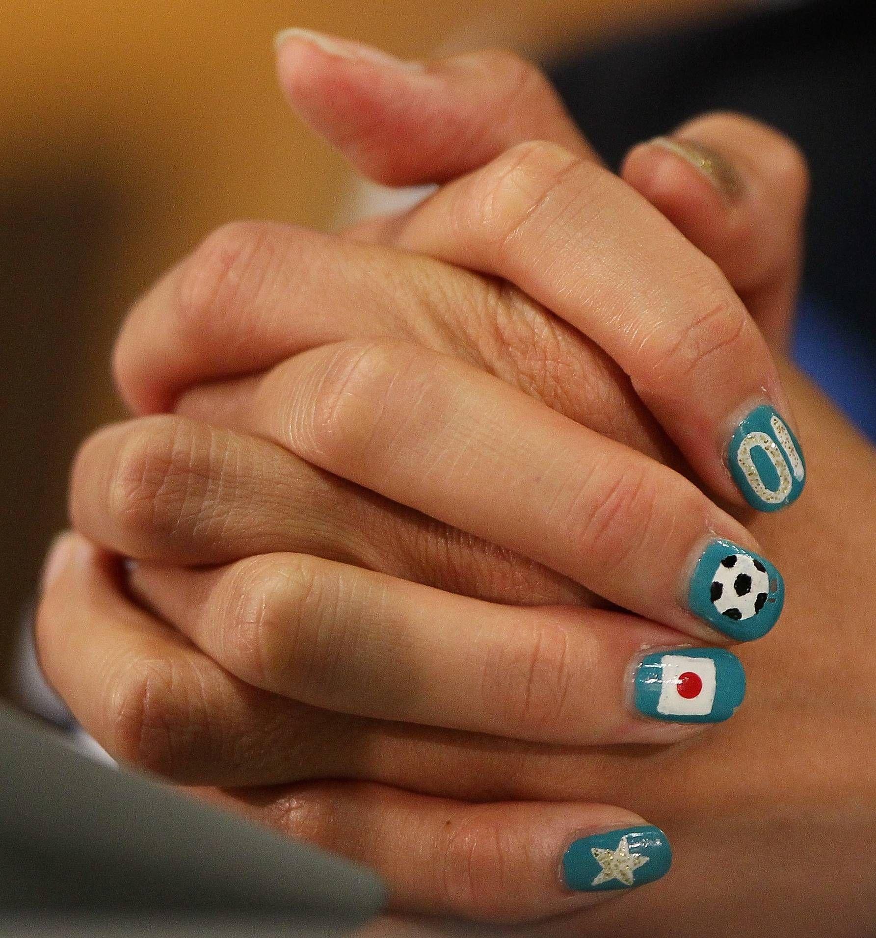 Nail Art Trends 14 Amazing And Hot Looks Nails Soccer Nails Nail Art
