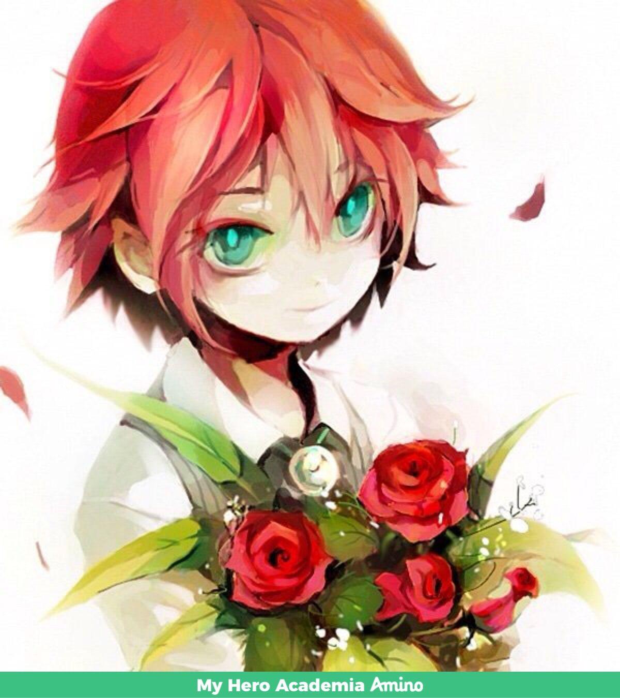 Barrier Pelo rojo anime, Chicos anime guapos